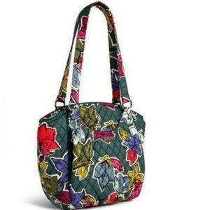 New Vera Bradley Glenna cotton Shoulder Bag